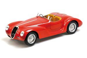 Alfa Romeo 6C SS Corsa Spider 1939 Red