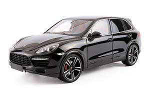 PORSCHE CAYENNE TURBO S 2015 BLACK