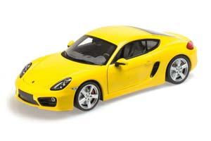 Porsche Cayman 2013 Yellow Limited Edition 1002 pcs.