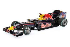 RED BULL RACING RB6 S.VETTEL ABU DHABI GP 2010 WORLD CHAMPION #5 L.E. 7500