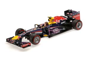 Red Bull Racing RB9 Final GP Brazil 2013 Red Bull Webber Limited Edition 1002 pcs.