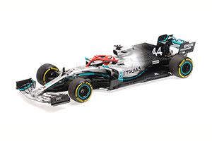 MERCEDES-AMG PETRONAS MOTORSPORT F1 W10 EQ POWER+ LEWIS HAMILTON WINNER MONACO GP 2019