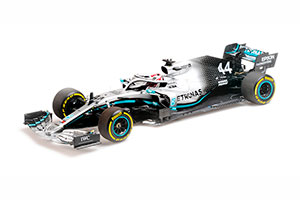 MERCEDES-AMG PETRONAS MOTORSPORT F1 W10 EQ POWER+ LEWIS HAMILTON WORLD CHAMPION USA GP 2019