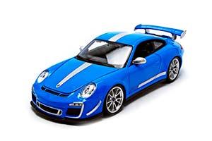 Porsche 911 (997) GT3 RS 4.0 2011 Light Blue/Silver