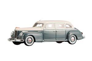 ZIS 110 TAXI (USSR RUSSIA CAR) LE 360 PCS WHITE/GRAY | ЗИС 110 ТАКСИ. ЛИМИТИРОВАННЫЙ ТИРАЖ 360 ШТ. (БЕЛЫЙ/СЕРЫЙ) *ЗИС