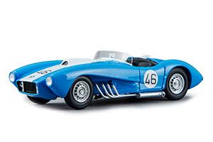 ZIL 112С CHASSIS #1 (USSR CARS) 1962 BLUE (ЗИЛ-112С ШАССИ #1 1962 ГОЛУБОЙ С БЕЛЫМ)