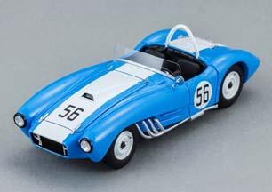 ZIL 112С CHASSIS #2 (USSR CARS) 1963 BLUE (ЗИЛ-112С ШАССИ #2 1963 ГОЛУБОЙ С БЕЛЫМ)