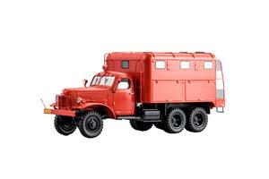 ZIS PRM-43 FIRE TRUCK (USSR RUSSIA) RED | ЗИС ПРМ-43 ПОЖАРНЫЙ РУКАВНЫЙ АВТОМОБИЛЬ