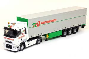RENAULT T460 WITH SEMI-TRAILER-NEGO TRANSPORTS 2015