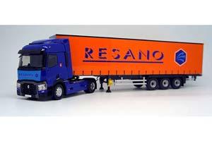 Renault T460 с полуприцепом-RESANO 2016