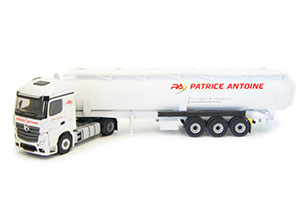 MERCEDES ACTROS 5 WITH SEMI-TRAILER TANK