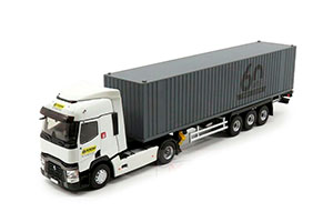 RENAULT T460 WITH SEMI-TRAILER CONTAINER KLINZING 2019 *РЕНО