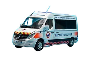RENAULT MASTER VPSP PROTECTION CIVILE 212014 *РЕНО