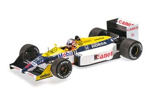 Williams Honda FW11B Winner GP Great Britain 1987 Mansell
