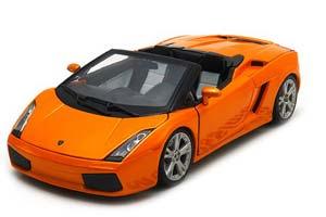 Lamborghini Gallardo Spider 2006 Orange Metallic