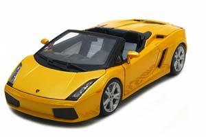 Lamborghini Gallardo Spyder 2004 Yellow