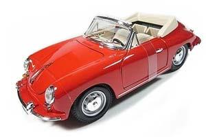 Porsche 356 B Cabriolet 1961 Red