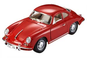 Porsche 356 B Coupe 1961 Red