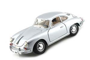 Porsche 356B Coupe 1961 Silver