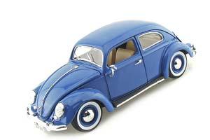 VW Volkswagen Kafer Beetle 1955 Blue