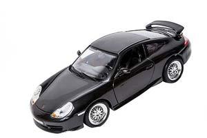 Porsche 911 (996) GT3 Street 1997 Black