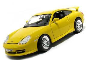 Porsche 911 (996) GT3 1997 Yellow