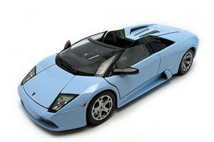 Lamborghini Murcielago Roadster 2001 Blue