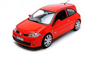 Renault Megane RS Coupe 2004 Red