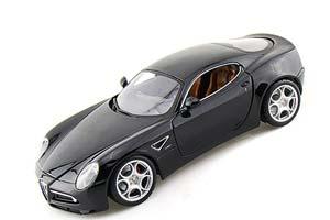 Alfa Romeo 8C Competizione 2013 Black