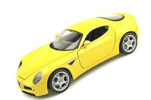Alfa Romeo 8C Competizione 2013 Yellow