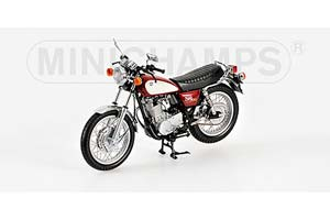 YAMAHA SR 500 1988 RED/WHITE