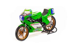 KAWASAKI KR350 ANTON MANG WORLD CHAMPION GP 350 1981 *KAVASAKI KAWAZAKI KAVAZAKI КАВАСАКИ КАВАЗАКИ