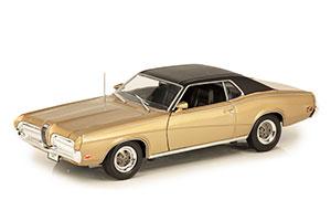 MERCURY COUGAR XR7 1970 GOLD