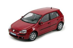 VW VOLKSWAGEN GOLF V 2005 RED