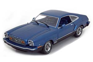 Ford Mustang II Mach 1 1976 Blue Metallic