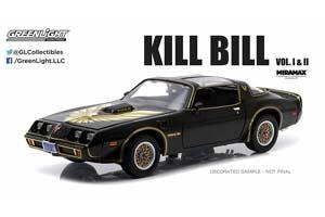 PONTIAC FIREBIRD TRANS AM KILL BILL I & II 1979 BLACK