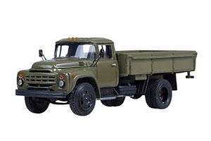 ZIL-130 ONBOARD LATE (USSR RUSSIA) 1979 DARK GREEN | ЗИЛ 130 БОРТОВОЙ ХАКИ (ПОЗДНЯЯ ОБЛИЦОВКА РАДИАТОРА)