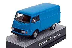 HANOMAG F25 BOX WAGON 1966 BLUE *ХАНОМАГ