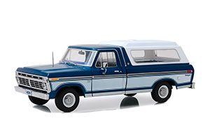FORD F-100 BODYSIDE ACCENT PANEL AND DELUXE BOX COVER 1975 MIDNIGHT BLUE POLY *ФОРД ФОРТ