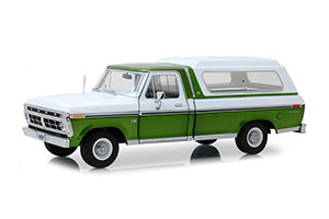 FORD F-100 BODYSIDE ACCENT PANEL AND DELUXE BOX COVER 1976 MEDIUM GREEN GLOW POLY *ФОРД ФОРТ