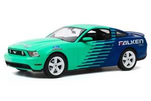 FORD MUSTANG GT FALKEN TIRES 2010 GREEN/BLUE