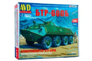 MODEL KIT PANZER BTR-60BP (USSR RUSSIA) | СБОРНАЯ МОДЕЛЬ БТР-60ПБ *СБОРНАЯ МОДЕЛЬ