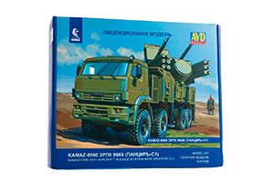 MODEL KIT KAMAZ-6560 ZPRK 96K6 PANTSYR (USSR RUSSIA) | СБОРНАЯ МОДЕЛЬ КАМАЗ-6560 ЗРПК 96К6 (ПАНЦИРЬ-С1)