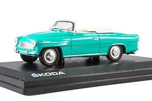 SKODA FELICIA ROADSTER 1963 GREEN *ШКОДА