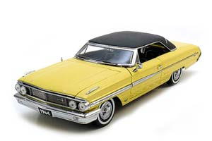 FORD GALAXIE 500 XL HARDTOP 1964 LIGHT YELLOW *ФОРД ФОРТ
