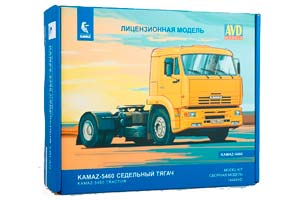 MODEL KIT KAMAZ-5460 TRUCK TRACKTOR (USSR RUSSIA) | СБОРНАЯ МОДЕЛЬ КАМАЗ-5460 СЕДЕЛЬНЫЙ ТЯГАЧ