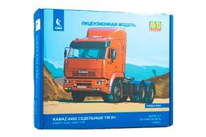 MODEL KIT KAMAZ-6460 DUMP TRUCK (USSR RUSSIA) | СБОРНАЯ МОДЕЛЬ КАМАЗ-6460 СЕДЕЛЬНЫЙ ТЯГАЧ