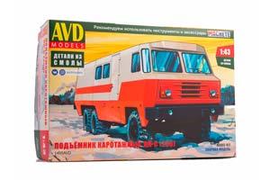 MODEL KIT KRAZ-255 LOADERPK-S (USSR RUSSIA) | СБОРНАЯ МОДЕЛЬ ПОДЪЕМНИК КАРОТАЖНЫЙ ПК-С (255) *СБОРНАЯ МОДЕЛЬ