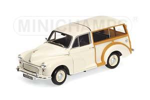 Morris Minor Traveller 1959 White