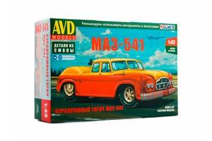 MODEL KIT MAZ-541 AIRPORT TRUCK (USSR RUSSIA) | СБОРНАЯ МОДЕЛЬ АЭРОДРОМНЫЙ ТЯГАЧ МАЗ-541 *СБОРНАЯ МОДЕЛЬ